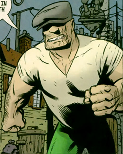 The Goon (Eric Powell Comics) ready for action