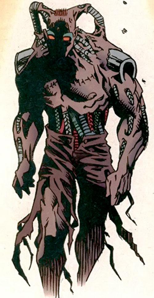 The Machine (Dark Horse comics) walking