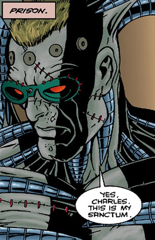 The Machine (Dark Horse comics) face closeup