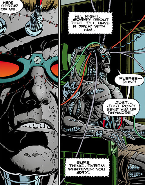 The Machine (Dark Horse comics) plugged in