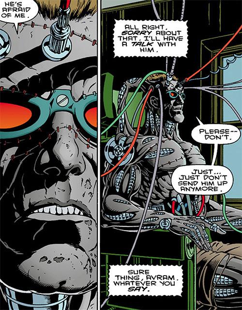 The Machine (Dark Horse comics) plugged in