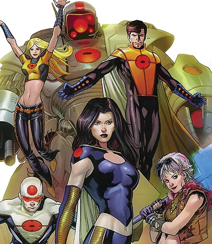 The Order (Marvel Comics) group shot, cover art