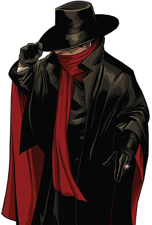 The Shadow (Matt Wagner's Year One) (Dynamite Comics) hat and gyrasol