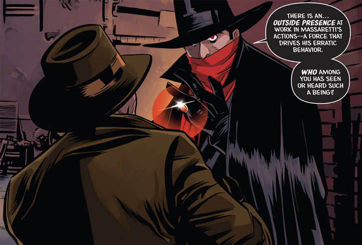 The Shadow (Matt Wagner's Year One) (Dynamite Comics) - gyrasol mesmerism