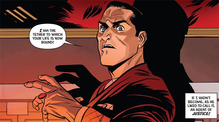 The Shadow (Matt Wagner's Year One) (Dynamite Comics) dramatic statement