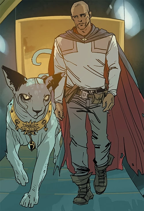 The Will and Lying Cat (Saga comics Image)