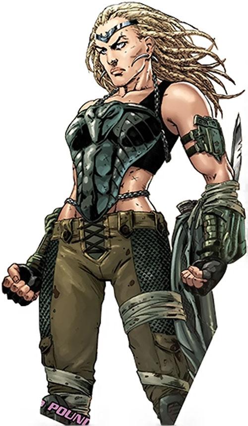 Theana (Wonder Woman enemy) (DC Comics)