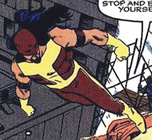 Thermo (Marvel Comics) flying