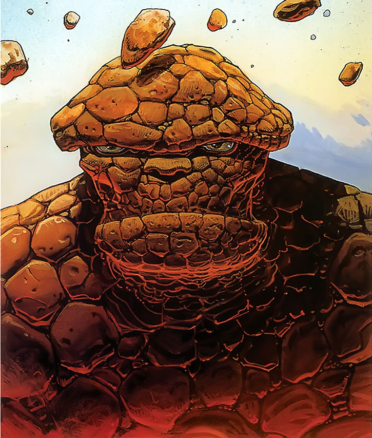 The Thing (Ben Grimm) by Moebius