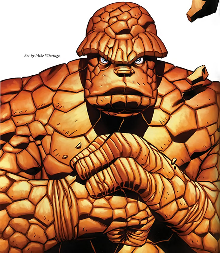 The Thing (Ben Grimm) by Mike Wieringo