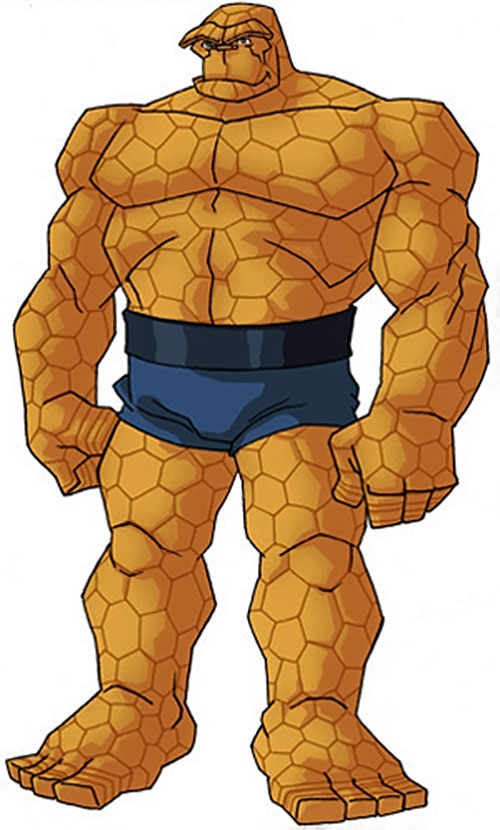 Thing of the Fantastic Four (Marvel Comics) by RonnieThunderbolts 1/5