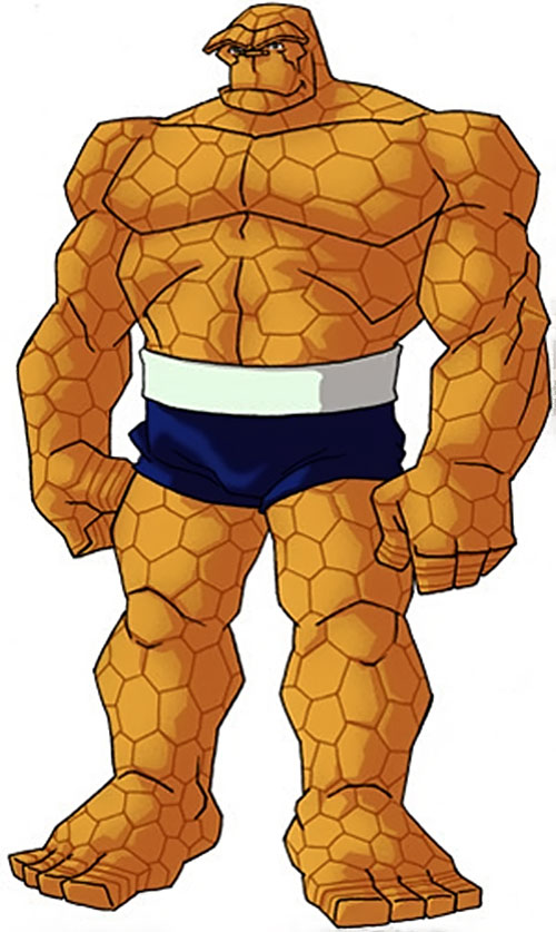 Thing of the Fantastic Four (Marvel Comics) by RonnieThunderbolts 2/5