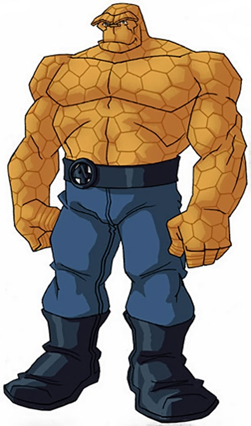 Thing of the Fantastic Four (Marvel Comics) by RonnieThunderbolts 3/5