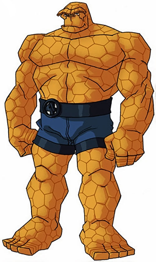 Thing of the Fantastic Four (Marvel Comics) by RonnieThunderbolts 4/5