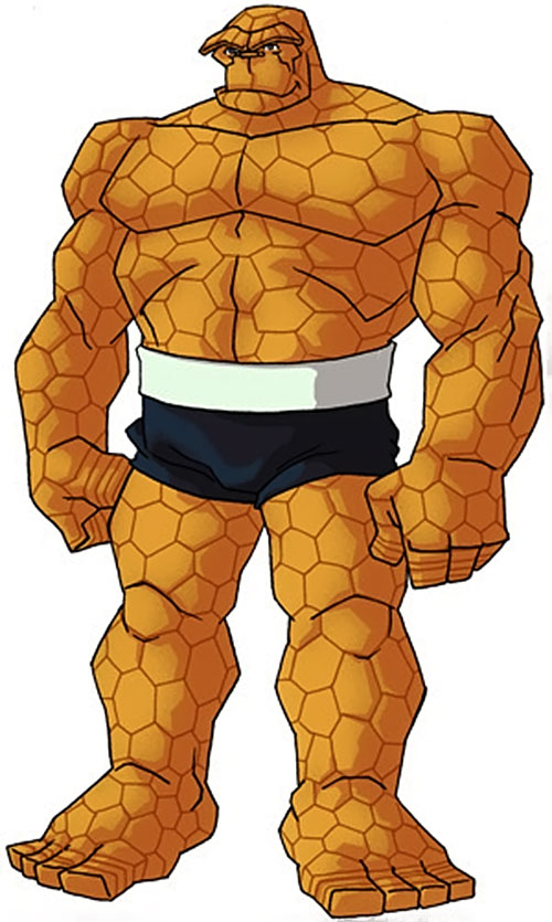 Thing of the Fantastic Four (Marvel Comics) by RonnieThunderbolts 5/5