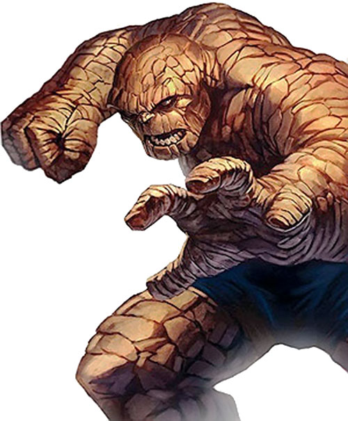Thing of the Fantastic Four (Marvel Comics) modern view