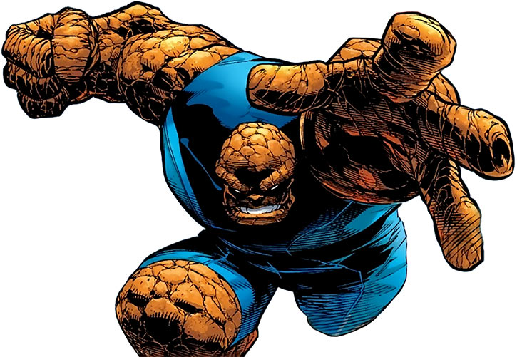 Thing - Ultimate Marvel Comics- Fantastic Four F4 - Kubert