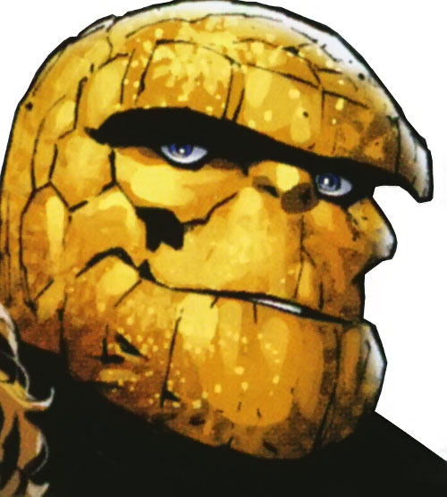 Ultimate Thing (Ultimate Marvel Comics) face closeup