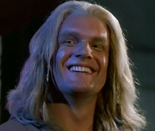 Thor (Eric Kramer in Incredible Hulk Returns) (Marvel movie) smiling face closeup