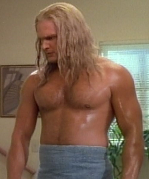 Thor (Eric Kramer in Incredible Hulk Returns) (Marvel movie) shirtless