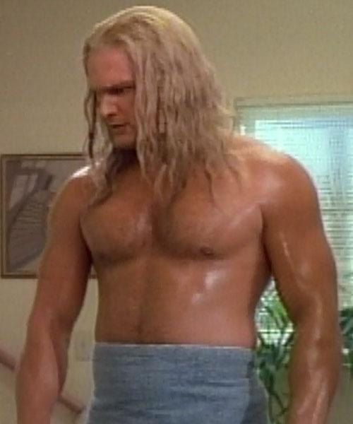 Thor (Eric Kramer in Incredible Hulk Returns) (Marvel movie) shirtless