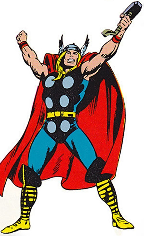 Thor (Marvel Comics) cheering