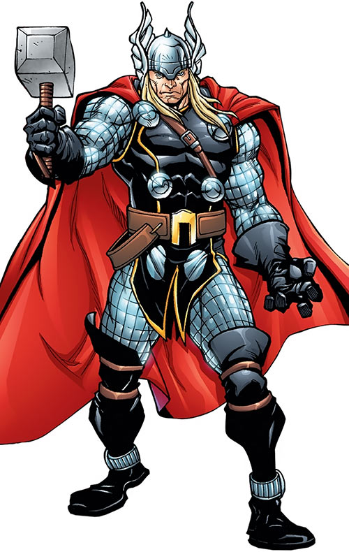 Thor Odinson (Marvel Comics) Gus Vazquez art from a sourcebook