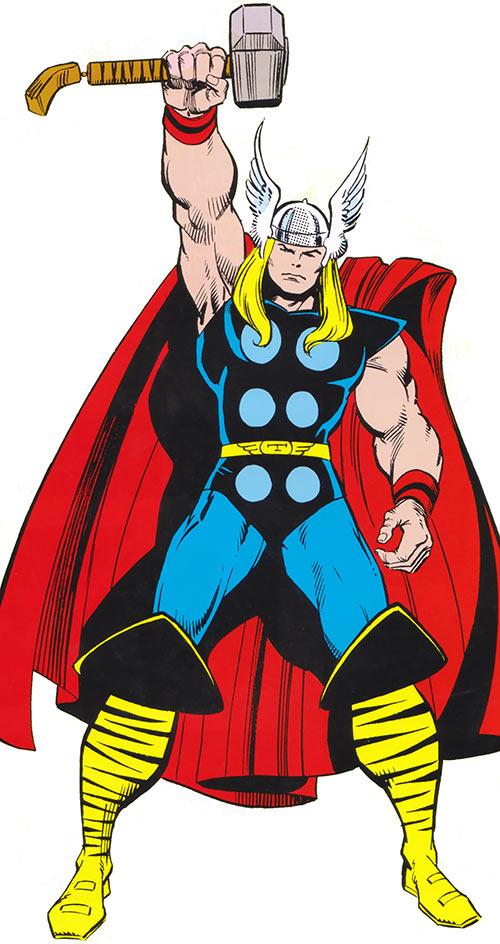 Thor (Marvel Comics) classic pose