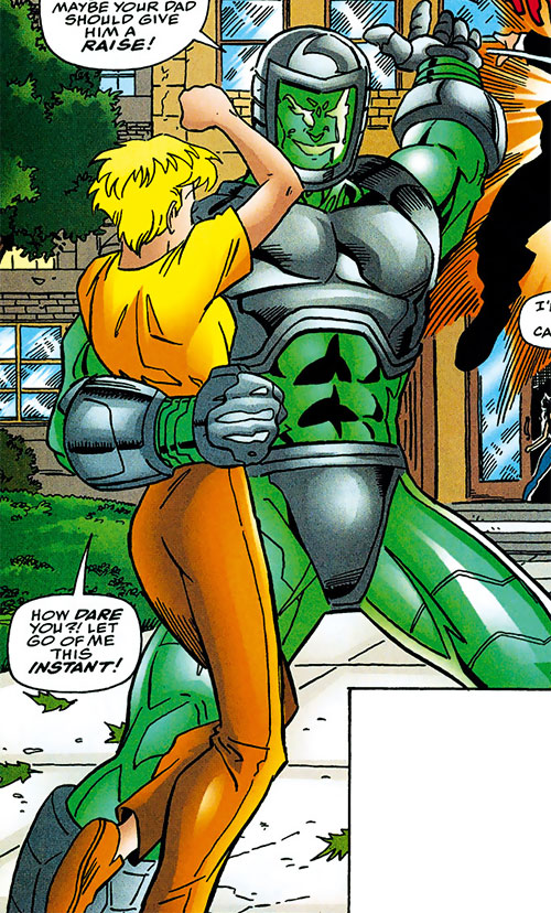 Thrash Bandit (Wild Thing enemy) (Marvel Comics MC2)