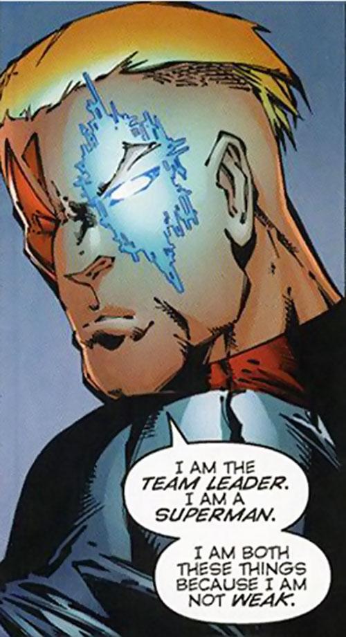 Threshold (DV8) (Wildstorm Comics) face closeup