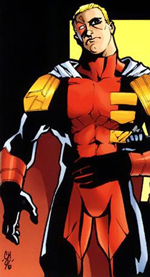 Threshold (DV8) (Wildstorm Comics) with the simpler costume
