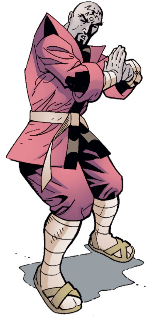 Thuggee fighter (Spoiler enemy) (DC Comics)