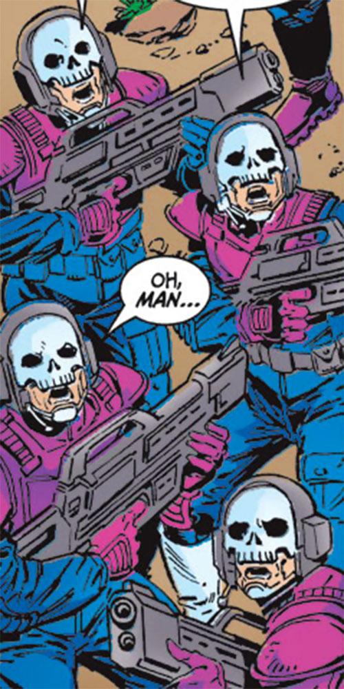 Steelskull paramilitary henchmen (Marvel Comics)