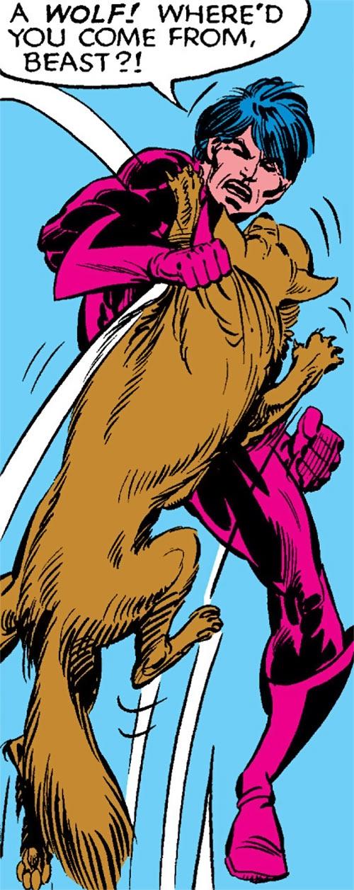 Thunderbird (James Proudstar) of the Hellions (Marvel Comics) vs. Wolfsbane