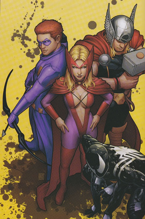 Thunderbolts team (Marvel Comics) Dark Avengers roster