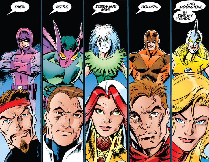 Thunderbolts original roster