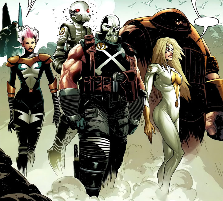 Thunderbolts (Marvel Comics) Raft era lineup