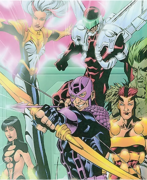 Thunderbolts team (Marvel Comics) on the road lineup
