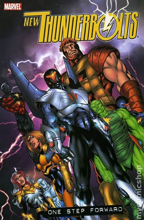 Thunderbolts team (Marvel Comics) New Thunderbolts roster