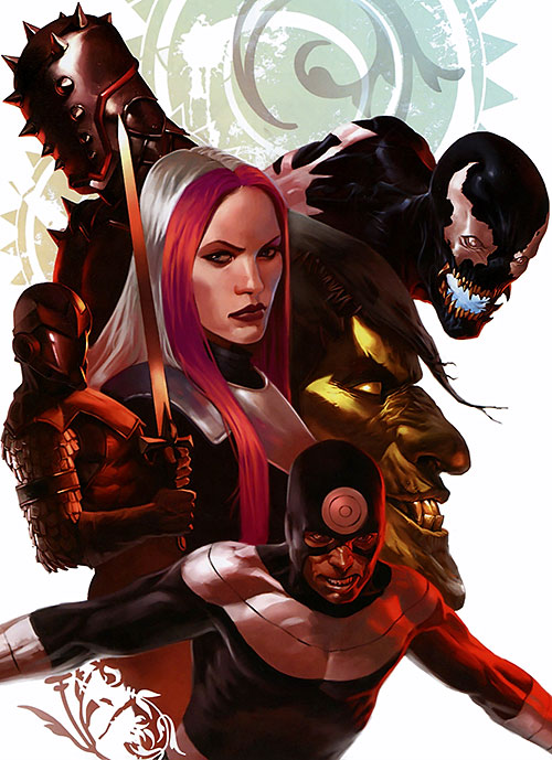 Thunderbolts team (Marvel Comics) Osborn's Bastards lineup