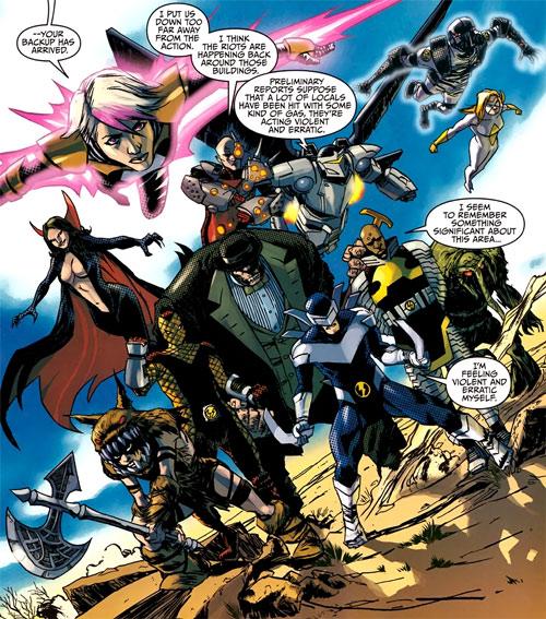 Thunderbolts team (Marvel Comics) second Raft lineup