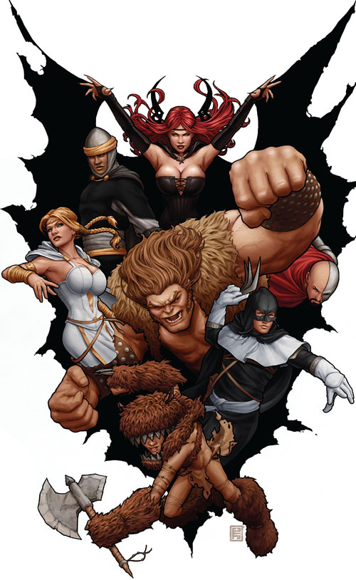 Thunderbolts team (Marvel Comics) time-displaced roster
