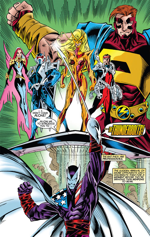 Thunderbolts team (Marvel Comics) first roster