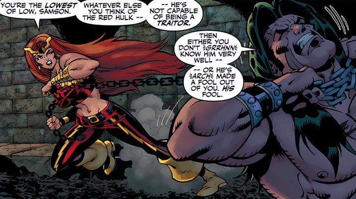 Thundra vs. Doc Samson