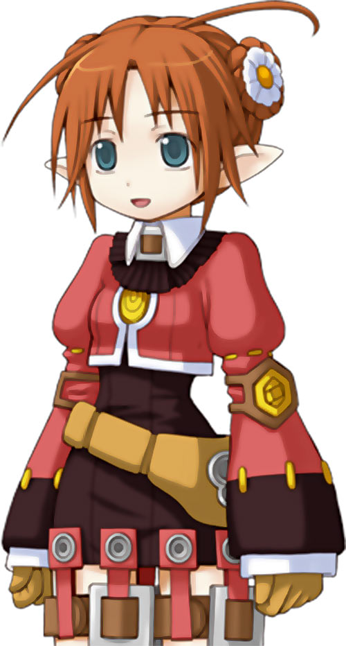 Tielle the elf archer girl in Recettear