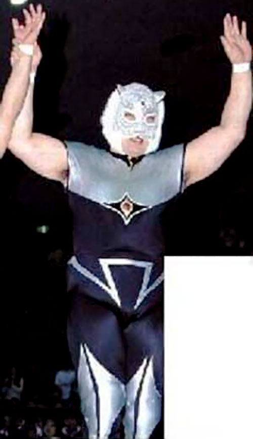 Tiger King aka Tiger Mask with the white mask