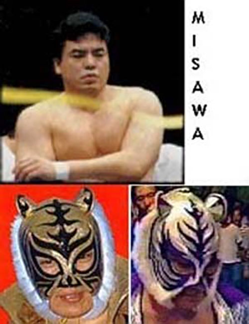Misawa, the second Tiger Mask Japanese wrestler