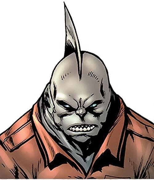 Tiger Shark (Namor enemy) (Marvel Comics) (Modern) shark face closeup