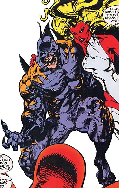 Tiger Shark (Namor enemy) (Marvel Comics) (Modern) with Tamara Rahn