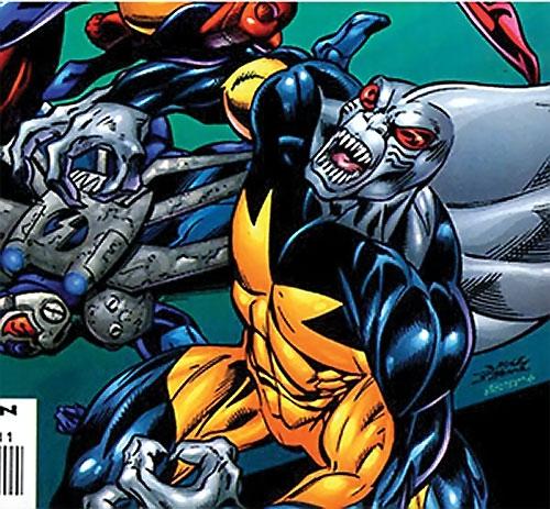Tiger Shark (Namor enemy) (Marvel Comics) (Modern) vs. the Thunderbolts